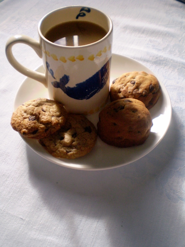 Cookie and coffee