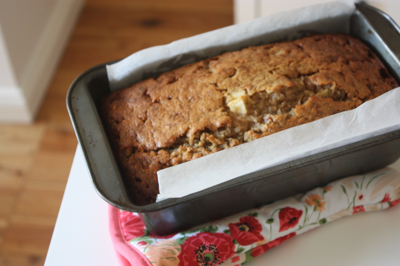 Banana Cake With Plain Flour And Brown Sugar